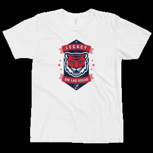 LTS SW Las Vegas Tigers White Logo T-shirt 2020